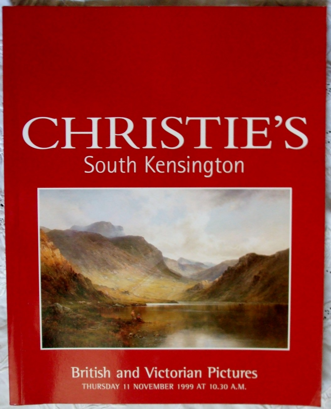 Christies South Kensington British And Victorian Pictures 11 November 1999