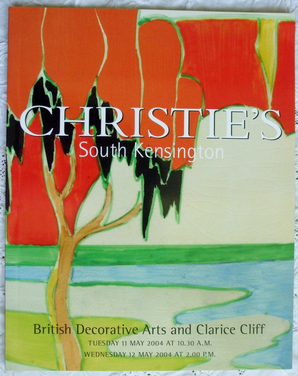 Christies South Kensington British Decorative Arts And Clarice Cliff 11 And 12 May 2004