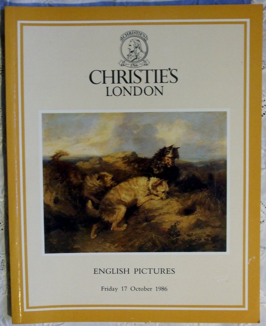 Christies English Pictures 17 October 1986