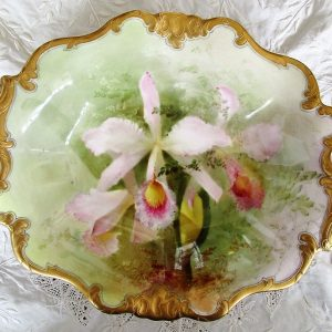 Royal Doulton Dish David Dewsberry Cattleya Triana Var