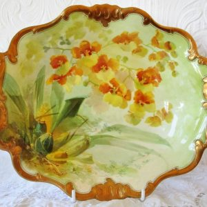 Royal Doulton Dish David Dewsbury Oncidium Forbesii