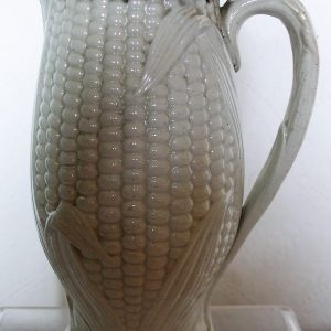 Pewter lidded Ear Of Corn Jug