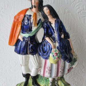 Staffordshire Figure A Gallant and his Sweetheart H 2021
