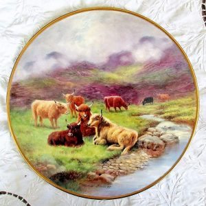 Reginald Johnson Highland Cattle Cheese Stand