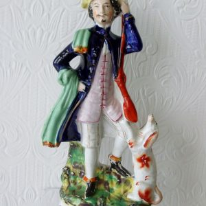 Staffordshire Figure Huntsman H 1862