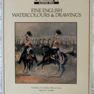 Phillips Fine English Watercolours and Drawings 31 October 1983