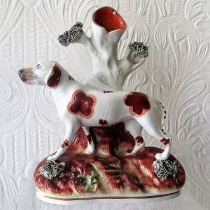 Staffordshire Figure Pointer H a2701A