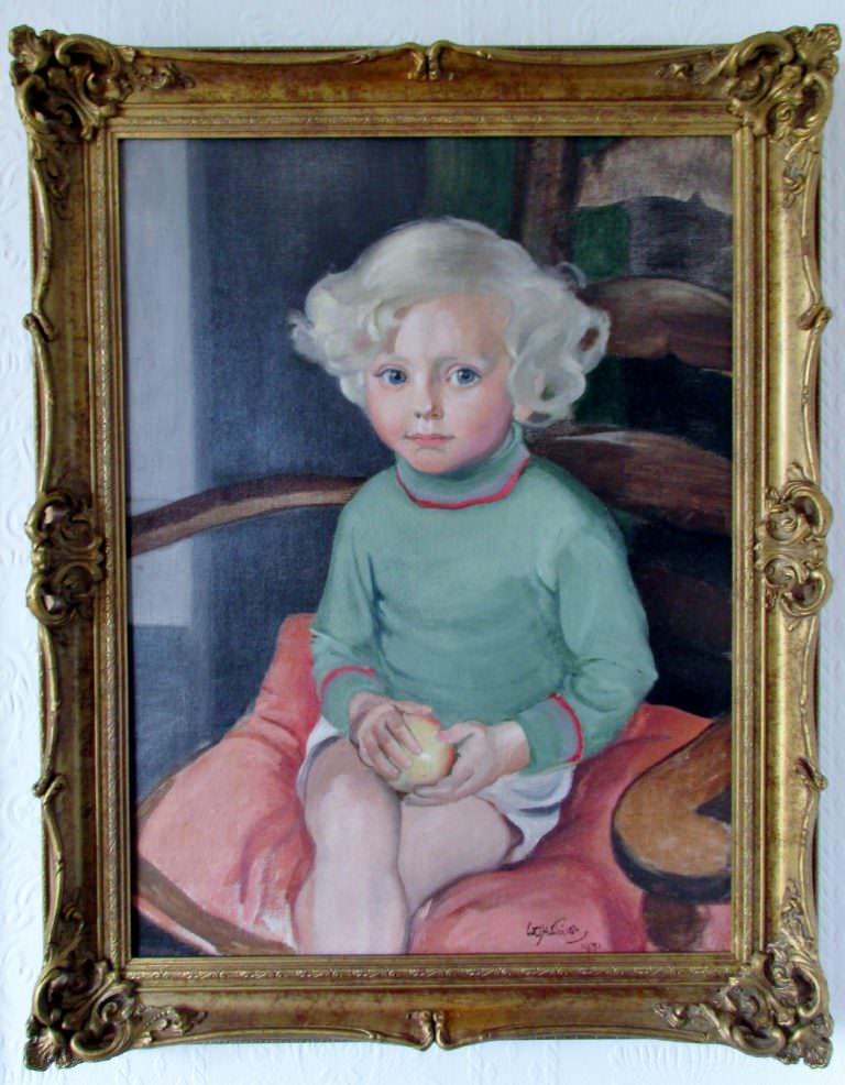 Portrait of Peter Groome Signed William Oliphant Hutchison Dated 1931