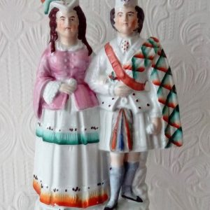 Staffordshire Figure Princess Louise and Marquess of Lorne P A223 H 701