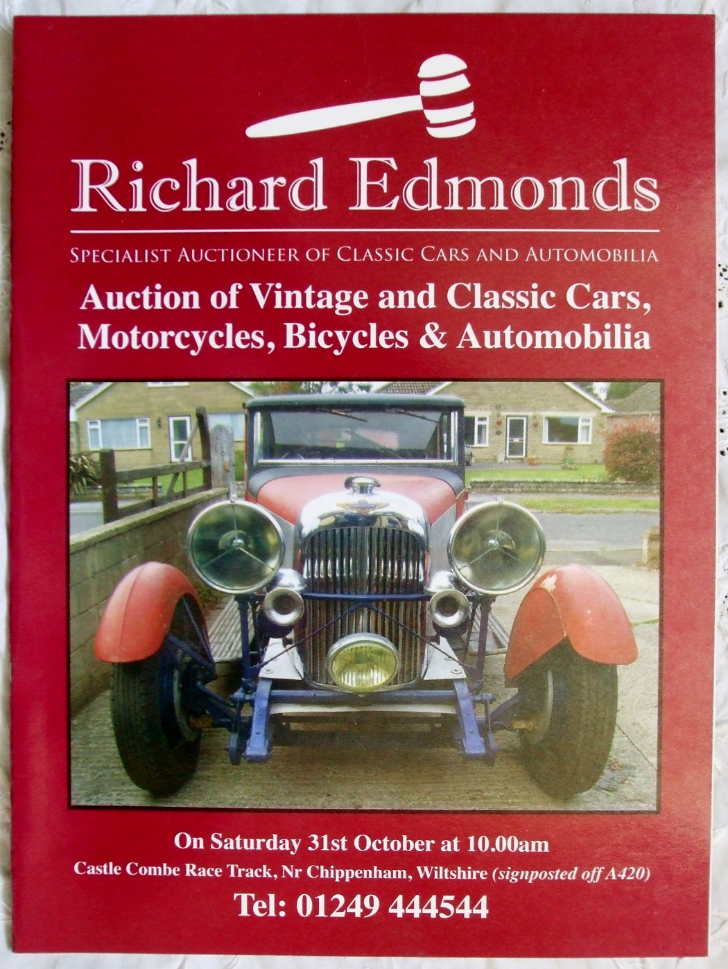 RE Vintage Classic Cars Motorcycles Bicycles Automobilia CC 31. 10. 2009