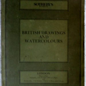 Sothebys British Drawings and Watercolours 11 and 17 October 1984