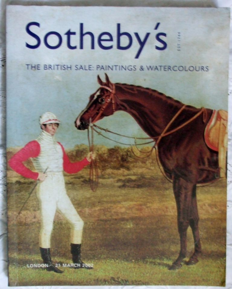 Sothebys The British Sale Paintings and Watercolours 21 March 2002