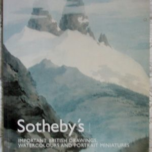 Sothebys Important British Drawings Watercolours and Portrait Miniatures 23 November 2006