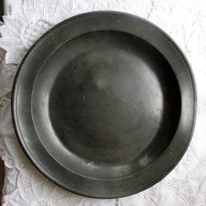 STW Pewter Dish / Plate