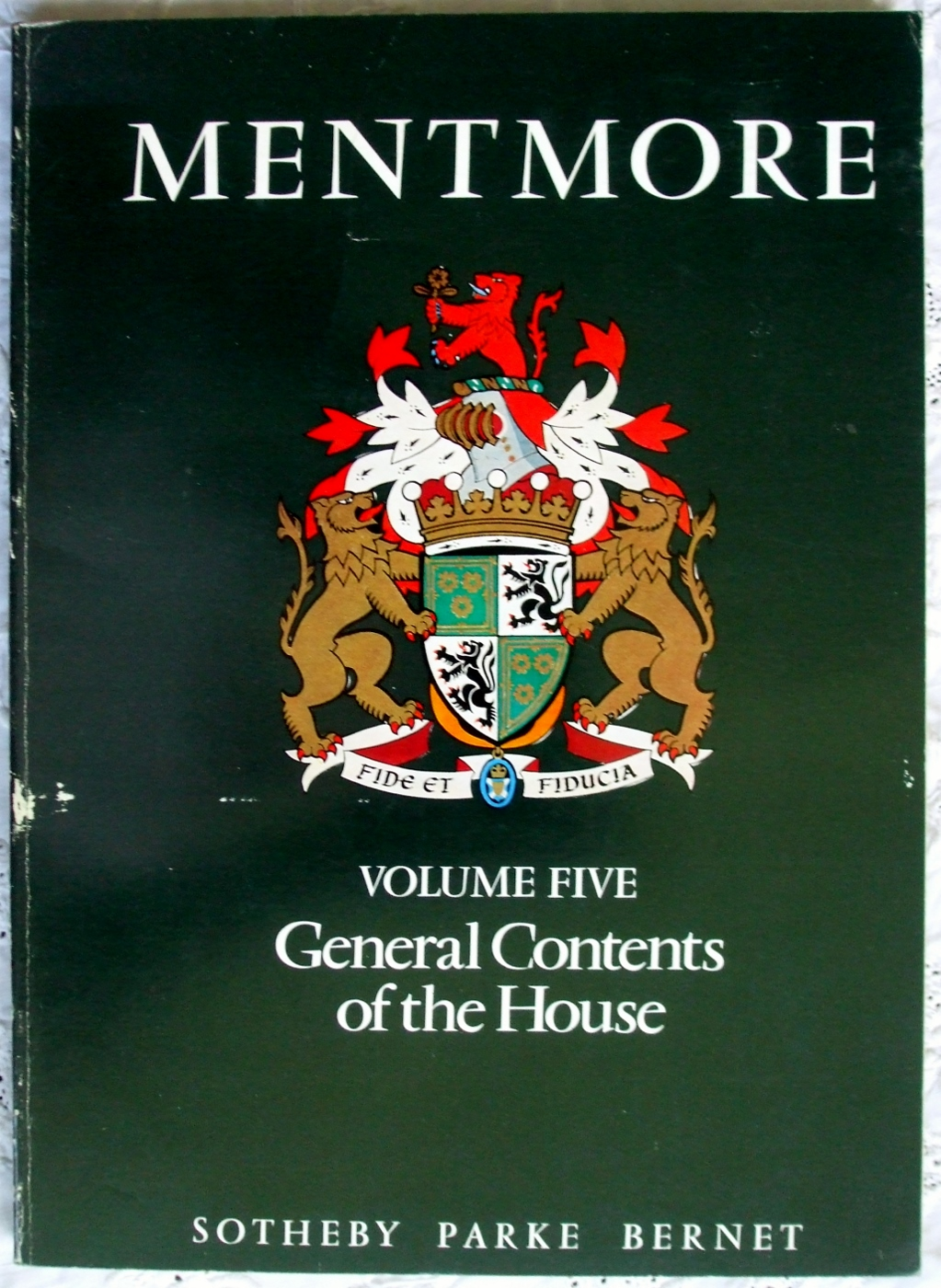 Sothebys Mentmore Volume V 18-19-20 May 1977