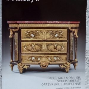 Sothebys Important Mobiliers Sculptures And Orfeverie Europeenne Paris 05 November 2015