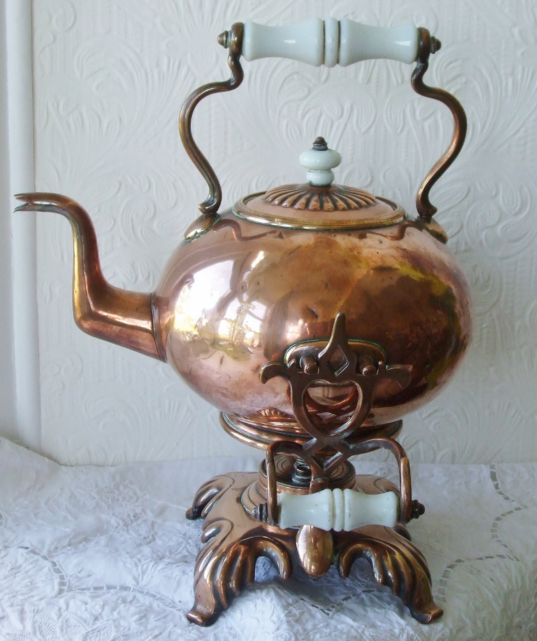 Spirit Kettle and Stand