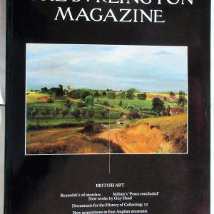 The Burlington Magazine August 1991