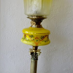 Yellow Painted Lamp