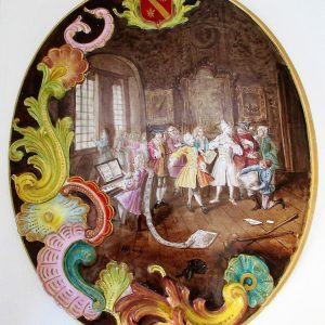 """Lille 1767"" Faience Plaque"