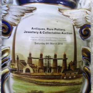 Potteries Auctions Antiques Rare Pottery Jewellery and Collectables Silverdale 09 March 2019