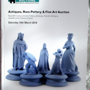 Potteries Auctions Antiques Rare Pottery and Fine Art Silverdale 10.March .2018