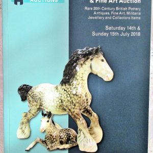 Potteries Auctions Antiques Rare Pottery and Fine Art Silverdale 14-15 July .2018