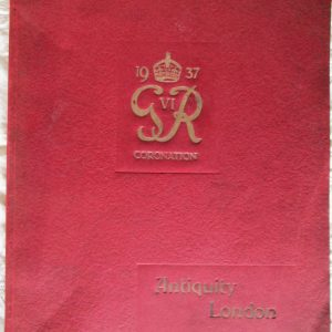 T. Crowther and Son 1937 Trade Catalogue