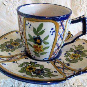 HB Quimper Cup and Saucer