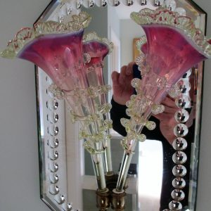 Mirror with Flutes