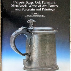 S Antiques and Collectables S 11. to 13. 11. 1991