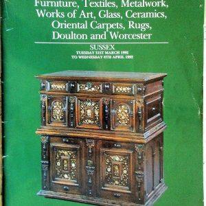S Antiques and Collectables S 31. 03. to 08. 04. 1992