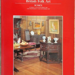 S British Folk Art S 14. 15. 11. 1989