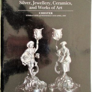 S CHESTER A24 Silver, Jewellery, Ceramics, and Works of Art C 12. 13. 04. 1988