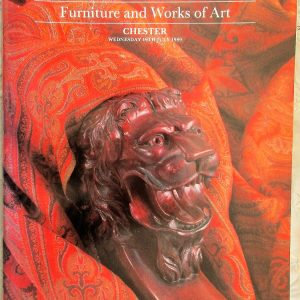 S CHESTER A29 Furniture and Works of Art C 19. 07. 1989