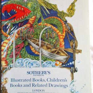 S JUMBLIE Illustrated Books, Children's Books and Related Drawings L 03. 04. 12. 1987