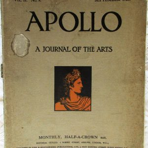 Apollo September 1925